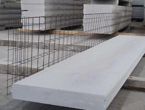 ALC钢筋网架砂加汽条板